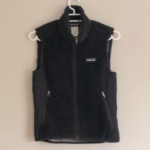 PATAGONIA Retro X Fleece Vest in Black sz  S